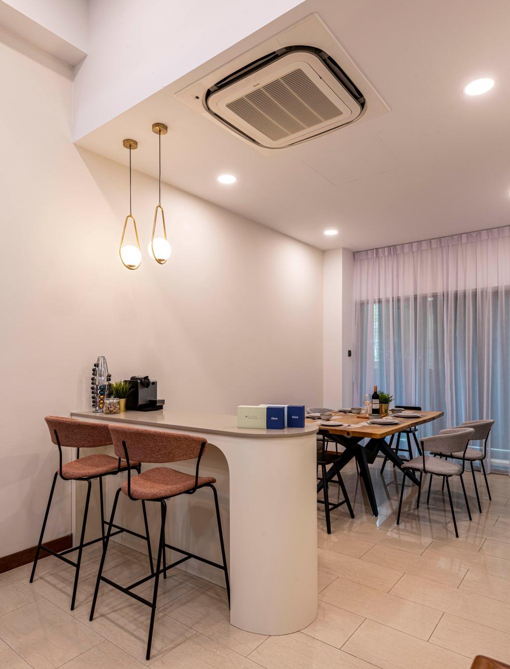 Contemporary, Landed, Dining Room, Springhill, Interior Designer, Craftsmen Atelier
