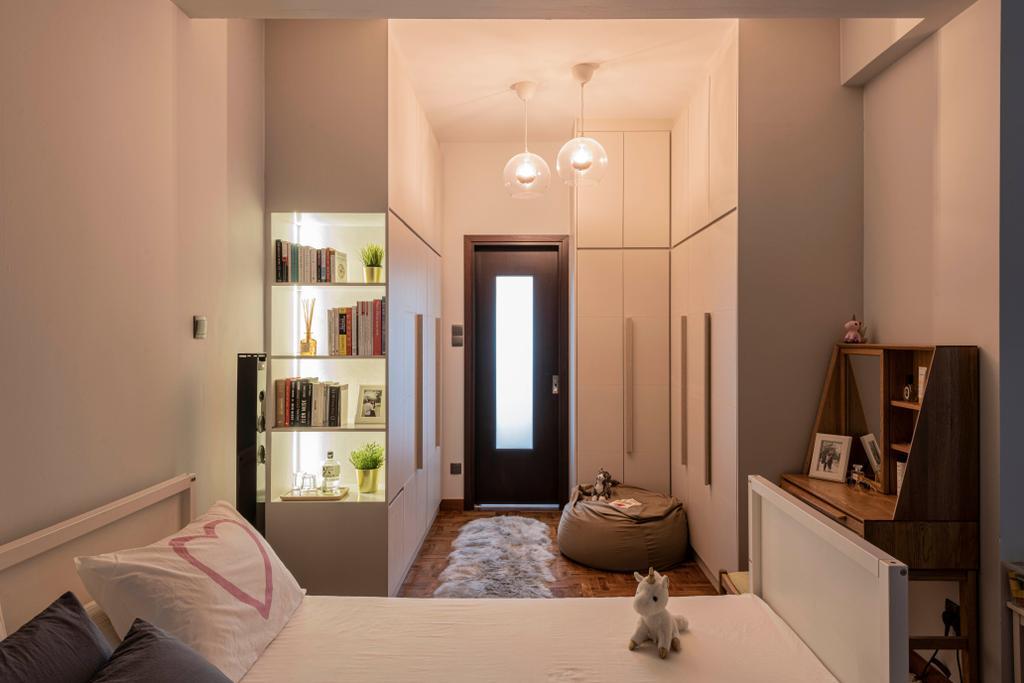 Contemporary, Landed, Bedroom, Springhill, Interior Designer, Craftsmen Atelier