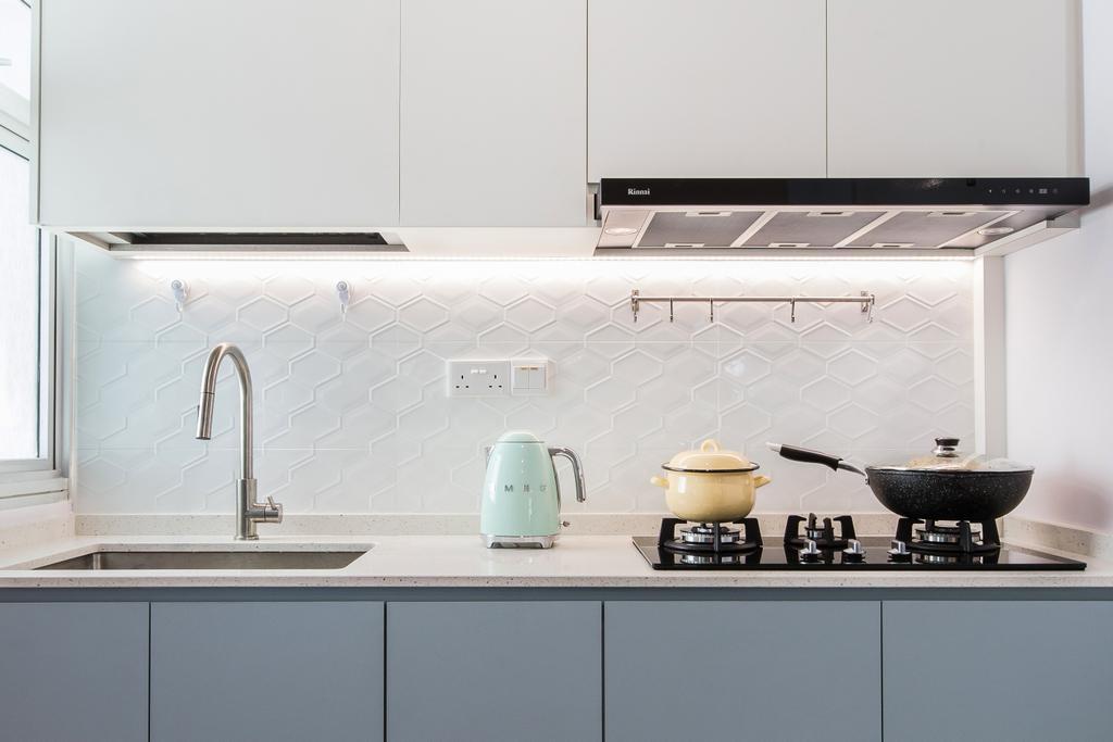 Contemporary, HDB, Kitchen, Ang Mo Kio Avenue 1, Interior Designer, Inizio Atelier, Scandinavian