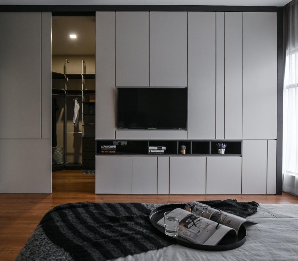 Modern, Landed, D' Infiniti, Bandar Damai Perdana, Interior Designer, Ee Design Studio, Contemporary
