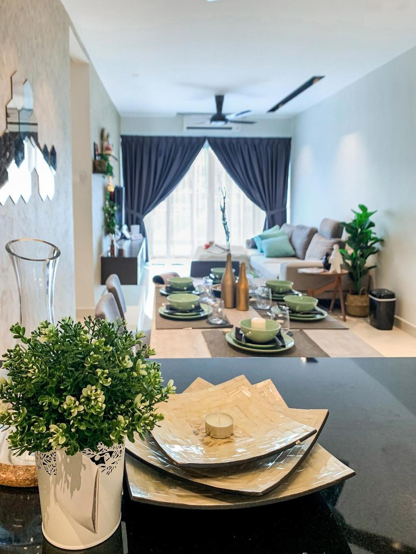Modern, Condo, Damai Hillpark Residence, Damai Cheras, Interior Designer, Considered Design Sdn. Bhd., Contemporary