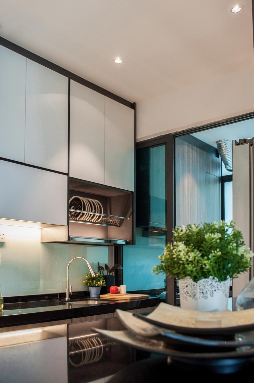 Modern, Condo, Kitchen, Damai Hillpark Residence, Damai Cheras, Interior Designer, Considered Design Sdn. Bhd., Contemporary
