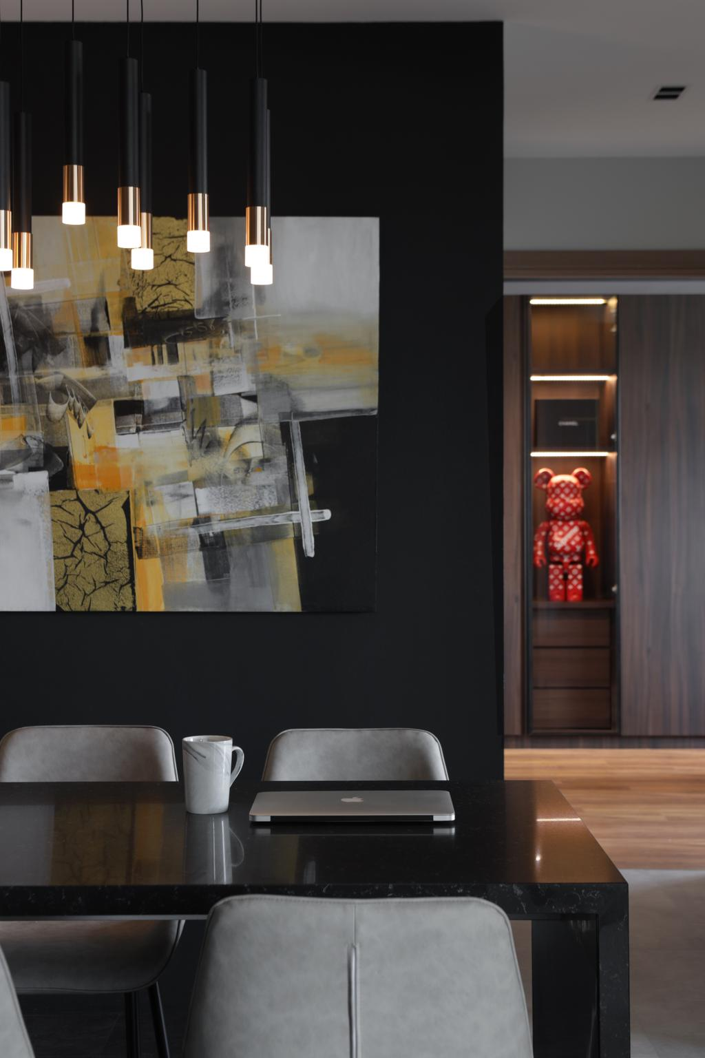 Contemporary, HDB, Dining Room, Canberra Road, Interior Designer, Ascend Design