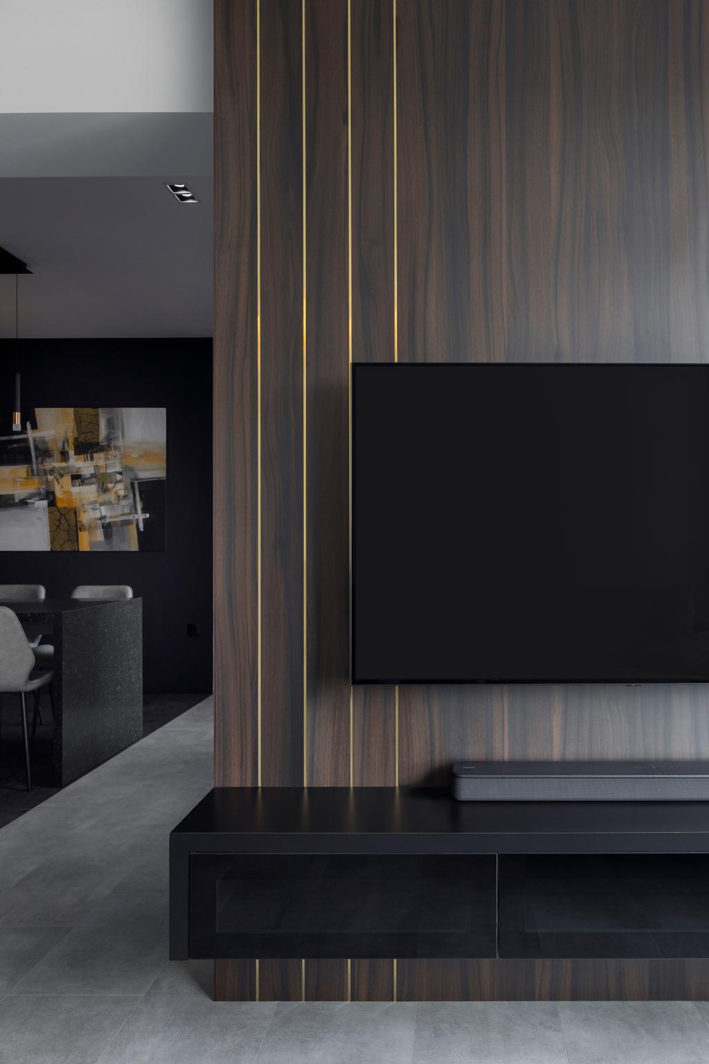 Contemporary, HDB, Living Room, Canberra Road, Interior Designer, Ascend Design