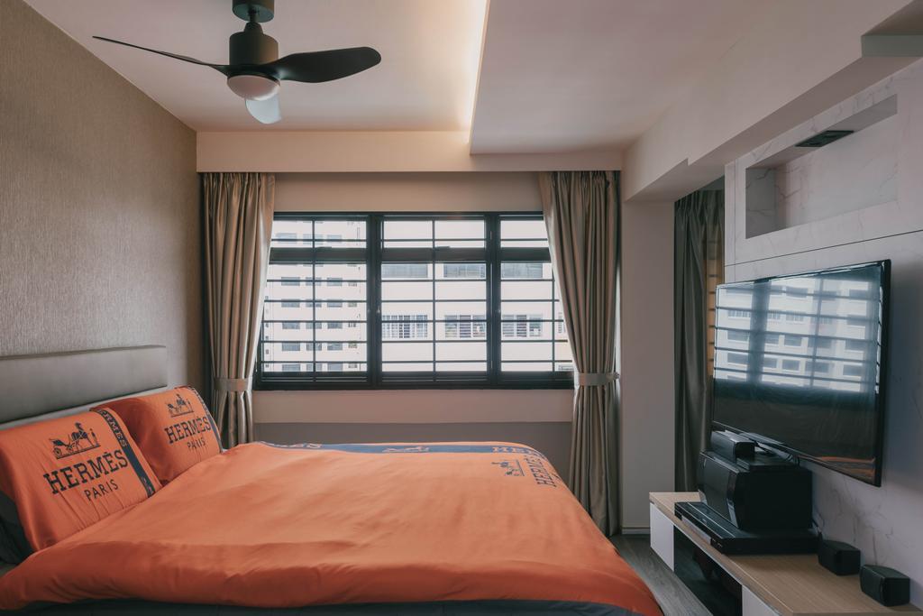 Modern, HDB, Bedroom, Senja Road, Interior Designer, Tab Gallery, Contemporary
