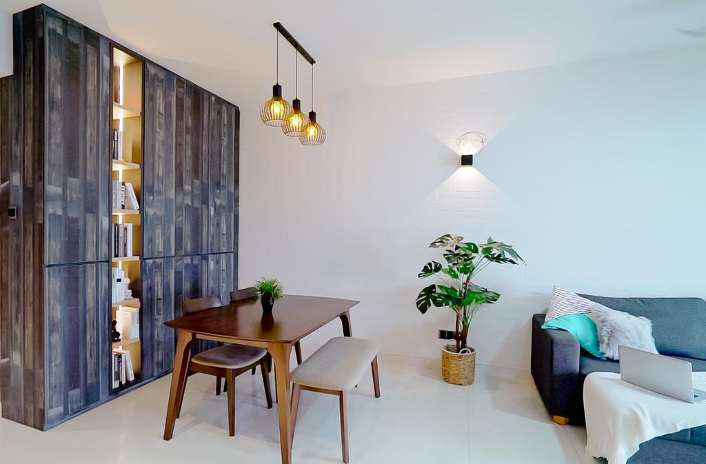 Scandinavian, Condo, Living Room, The Centris, Interior Designer, Posh Home, Contemporary