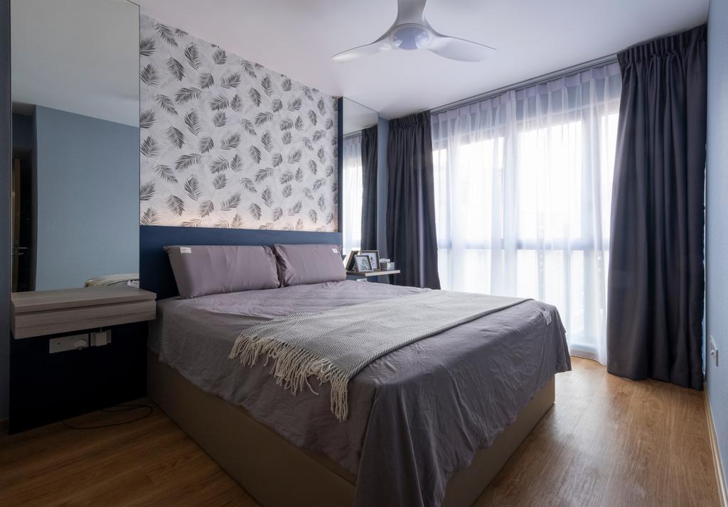 Modern, Condo, Bedroom, Hundred Palms Residences, Interior Designer, Starry Homestead, Scandinavian