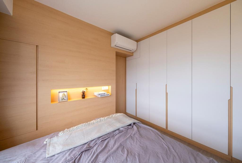 Scandinavian, HDB, Bedroom, Northshore Drive, Interior Designer, Starry Homestead