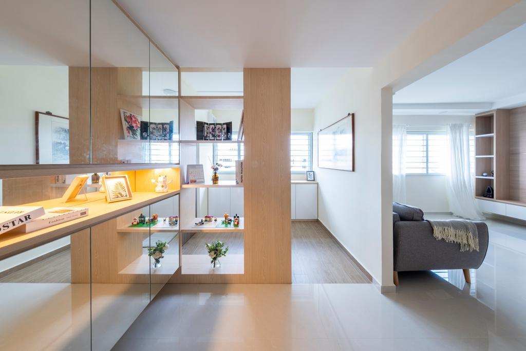 Scandinavian, HDB, Living Room, Tampines Street 41, Interior Designer, Starry Homestead