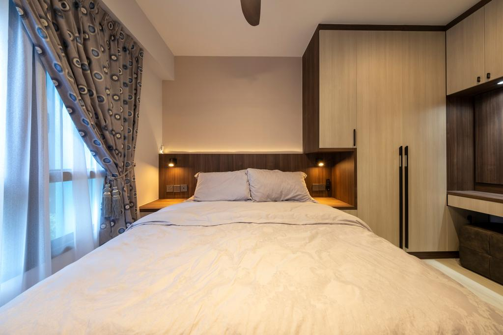 Modern, HDB, Bedroom, Alkaff Crescent, Interior Designer, Starry Homestead