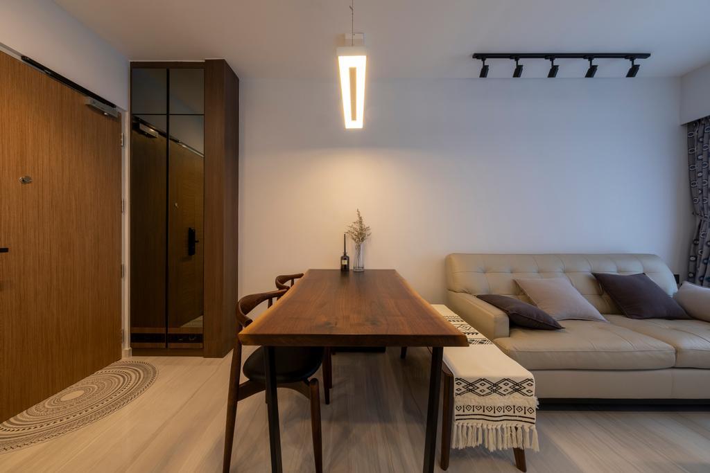Modern, HDB, Living Room, Alkaff Crescent, Interior Designer, Starry Homestead