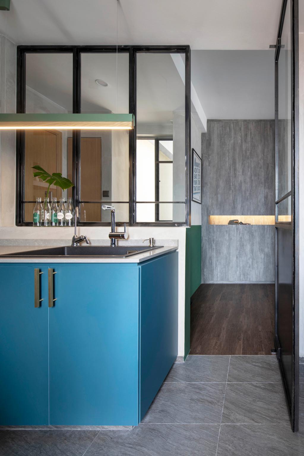 Eclectic, Condo, Kitchen, Atrium Residences, Interior Designer, Fuse Concept