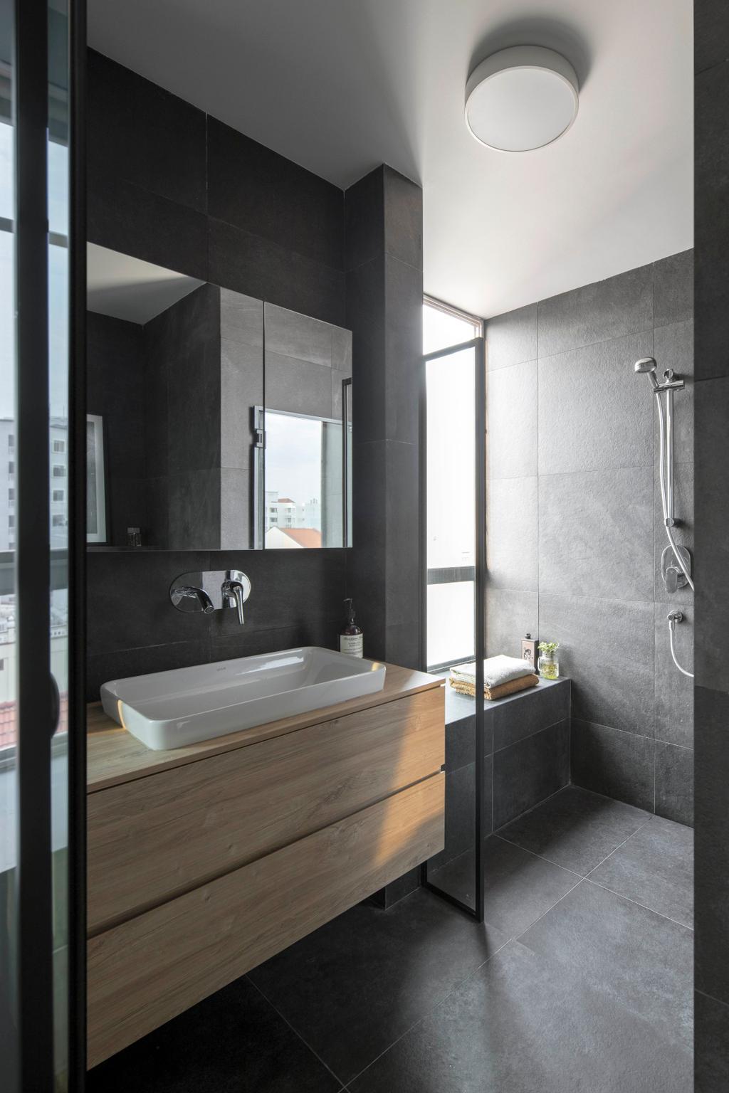 Eclectic, Condo, Bathroom, Atrium Residences, Interior Designer, Fuse Concept