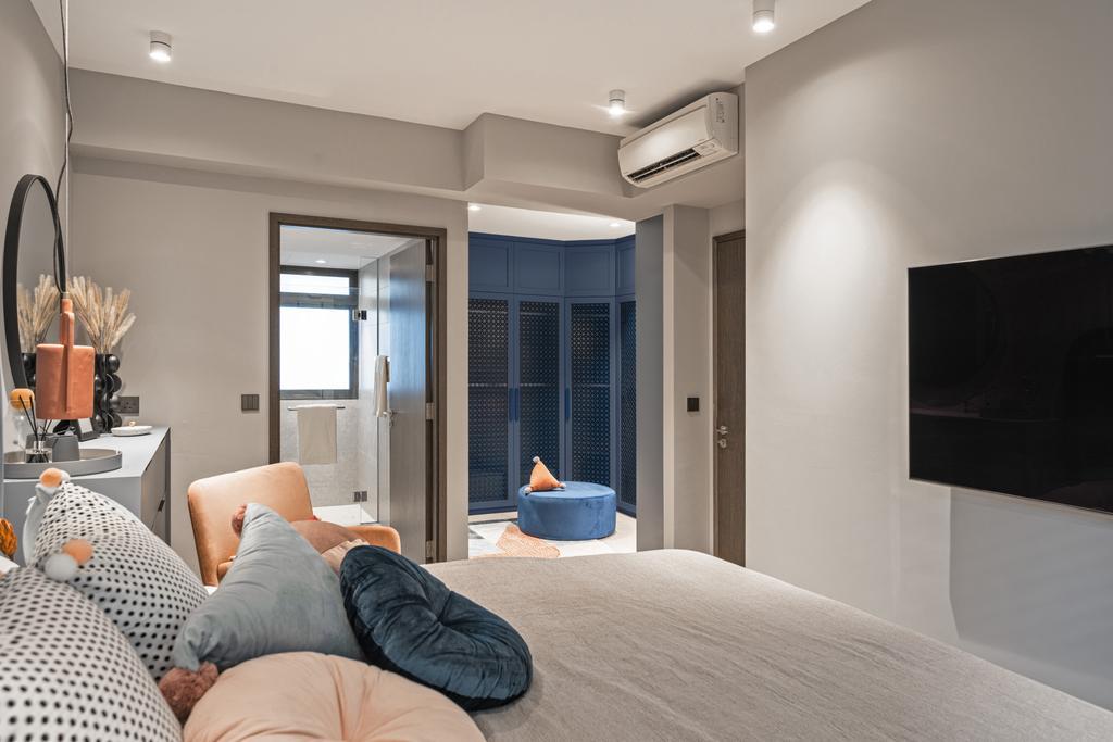 Modern, Condo, Bedroom, Inz Residences, Interior Designer, Mr Shopper Studio, Scandinavian