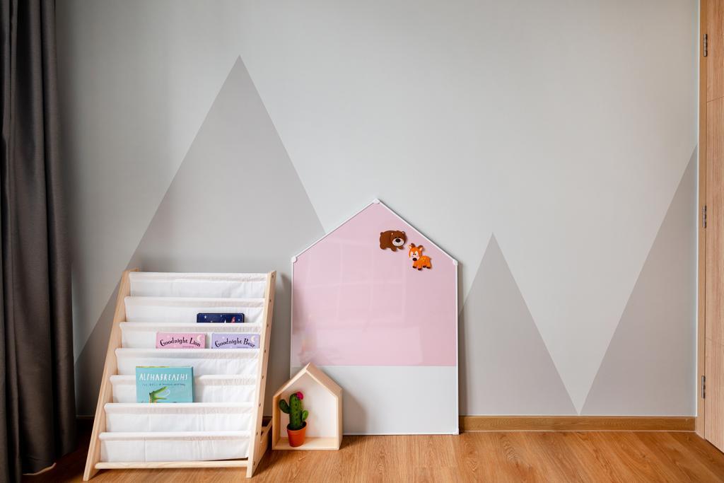Scandinavian, Condo, Bedroom, Hundred Palms Residences, Interior Designer, Mr Shopper Studio