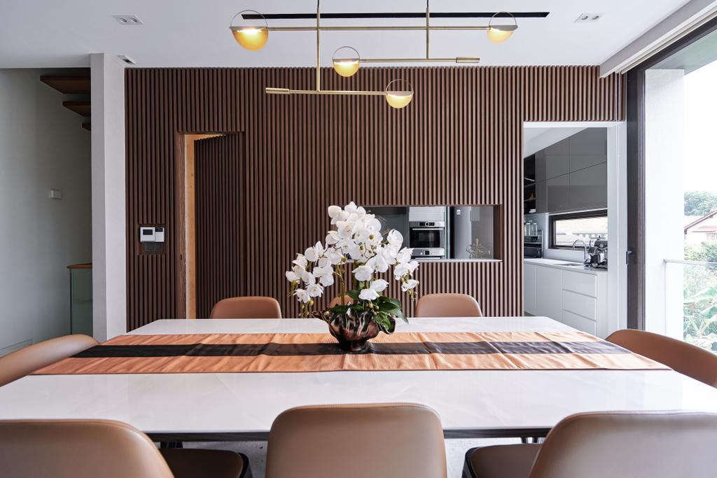 Modern, Landed, Dining Room, Cayman Residence, Interior Designer, Mr Shopper Studio, Contemporary