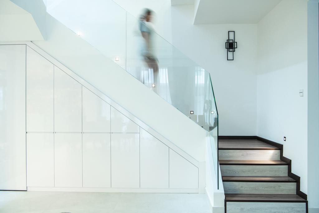 Modern, Landed, Grey Stone, Adda Height, Interior Designer, Fuyu Dezain Sdn. Bhd., Contemporary