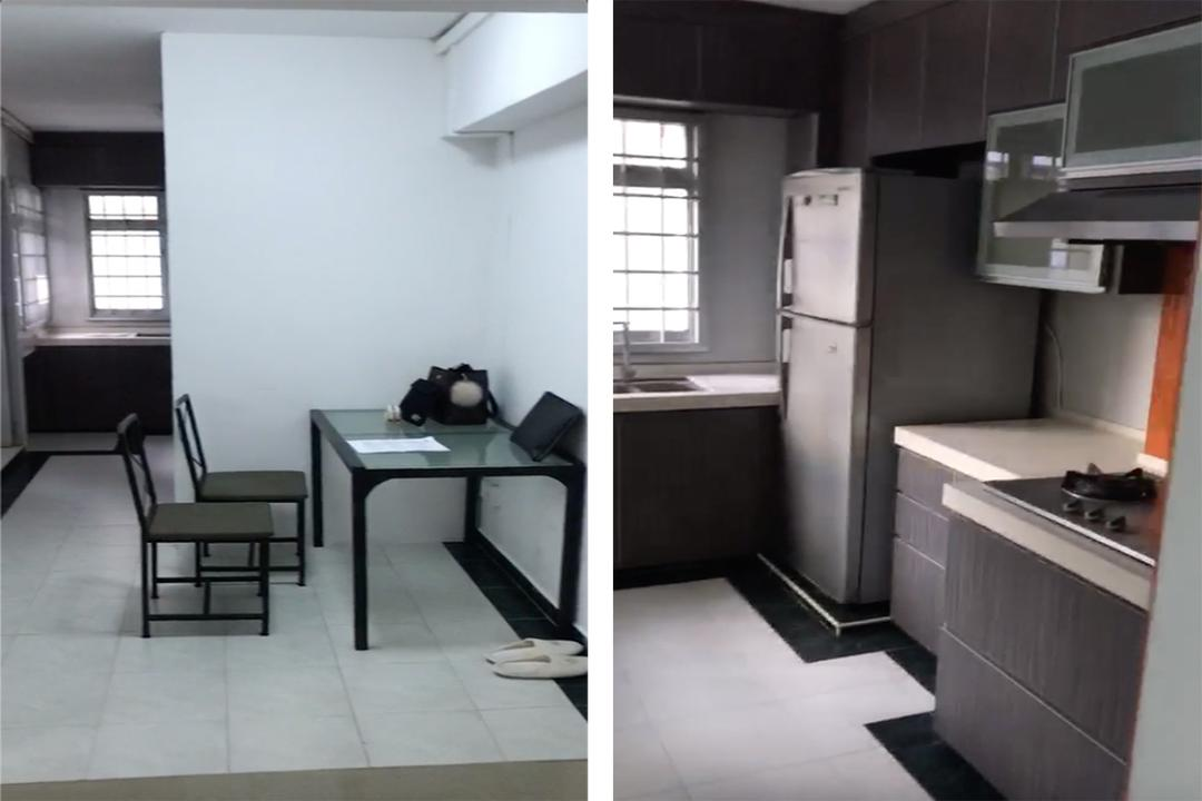 Singapore renovation 4-room HDB flat Space Atelier