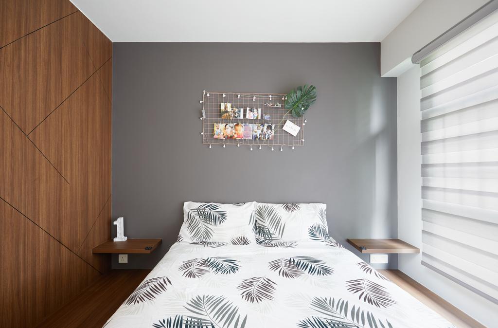 Contemporary, HDB, Bedroom, Tampines Avenue 9, Interior Designer, Dots 'N' Tots