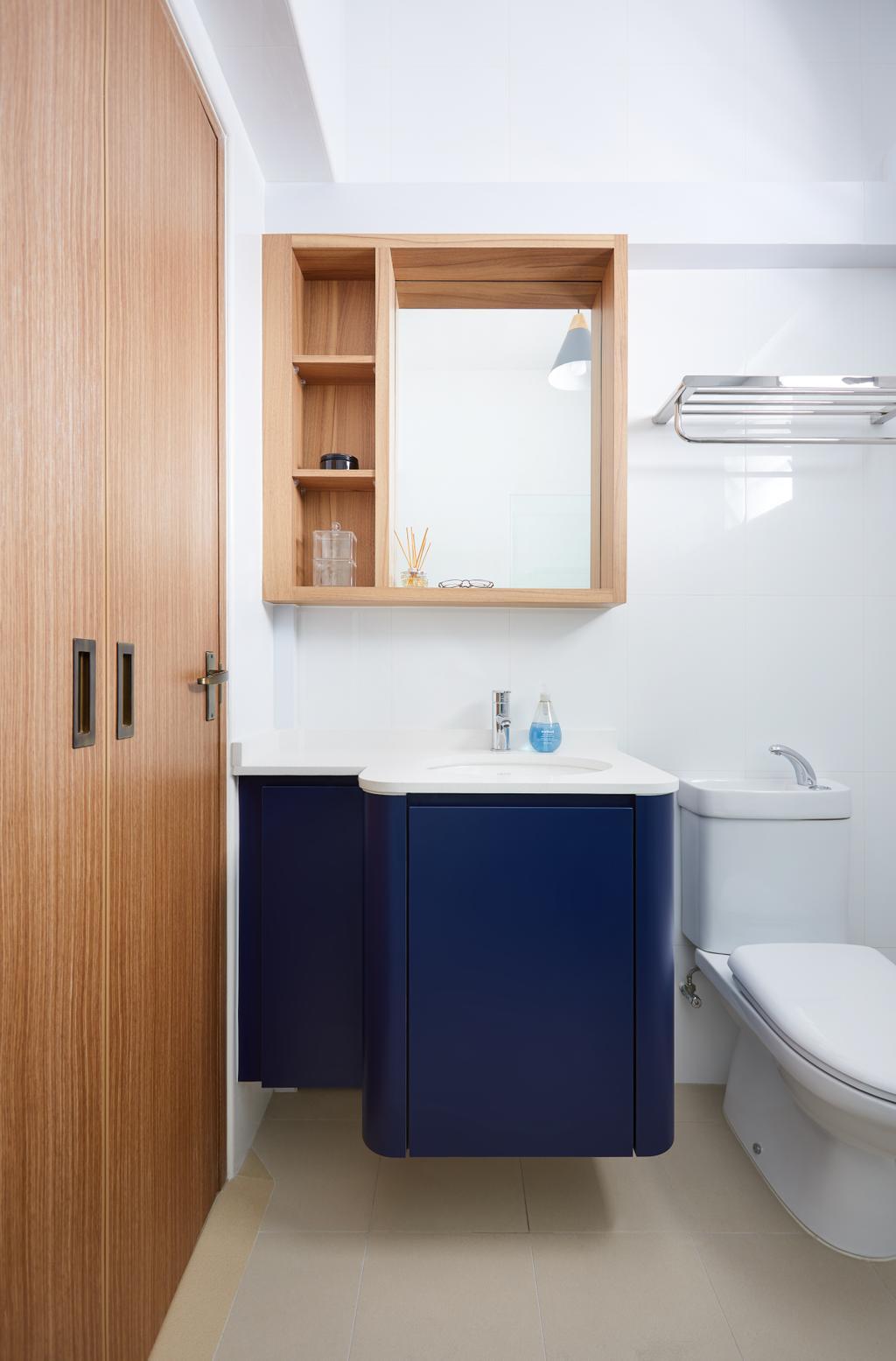 Contemporary, HDB, Bathroom, Bukit Batok West, Interior Designer, Dots 'N' Tots