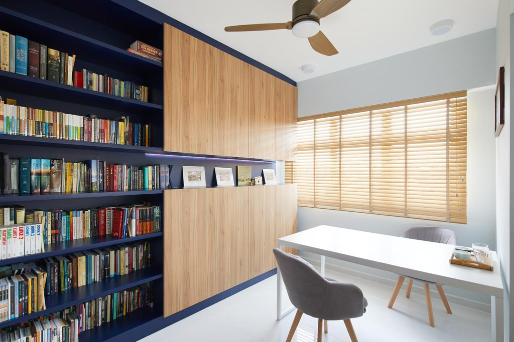 Contemporary, HDB, Study, Bukit Batok West, Interior Designer, Dots 'N' Tots