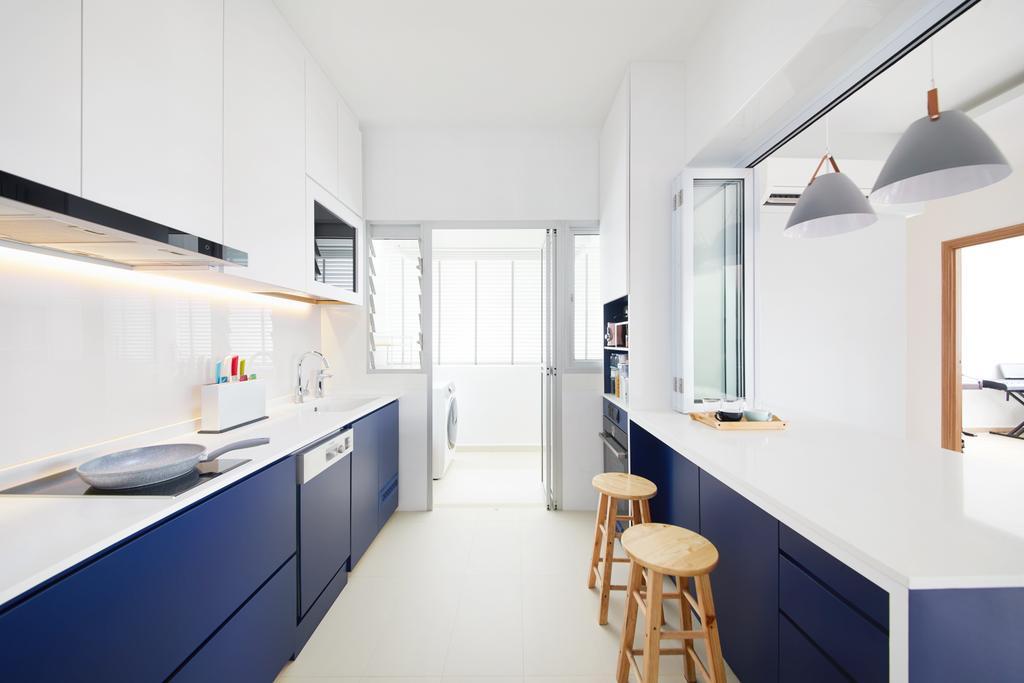 Contemporary, HDB, Kitchen, Bukit Batok West, Interior Designer, Dots 'N' Tots