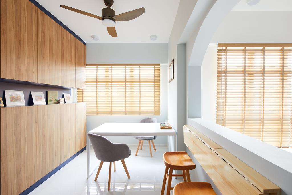 Contemporary, HDB, Bukit Batok West, Interior Designer, Dots 'N' Tots
