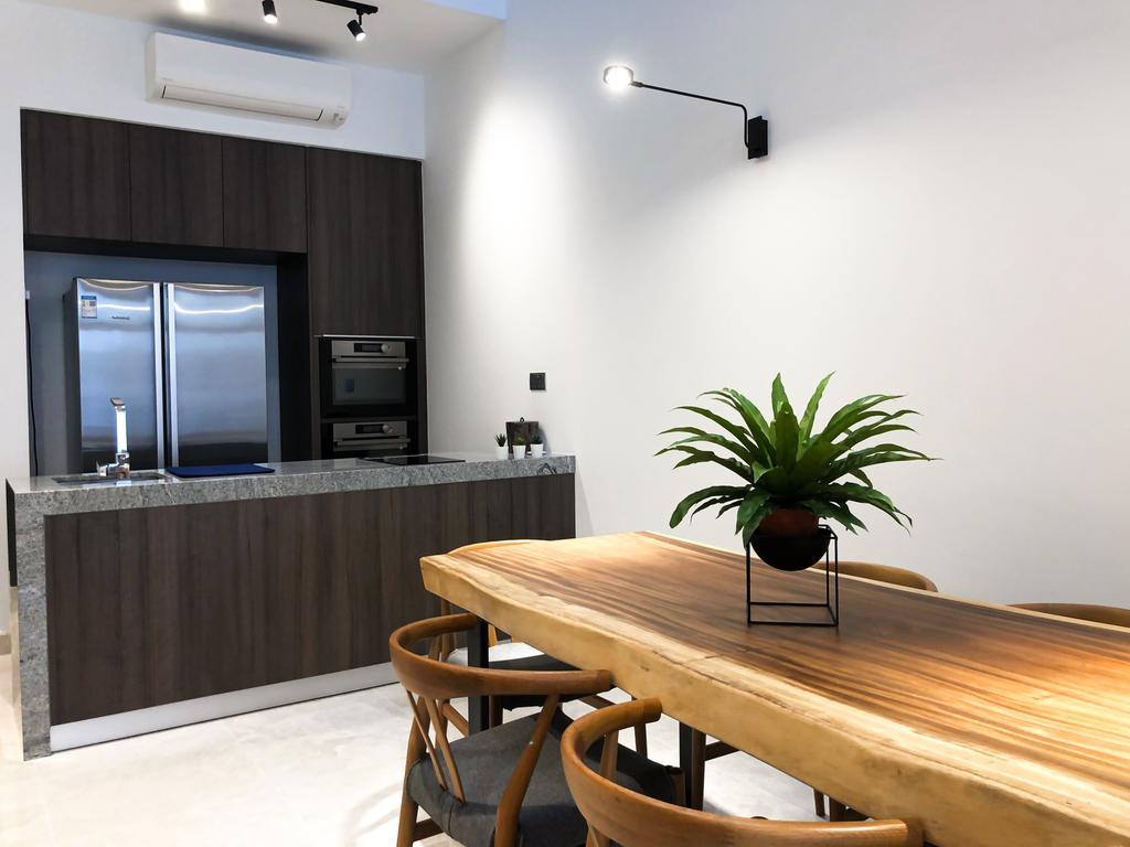 Contemporary, Landed, Kitchen, Luxus Hills, Interior Designer, Posh Home