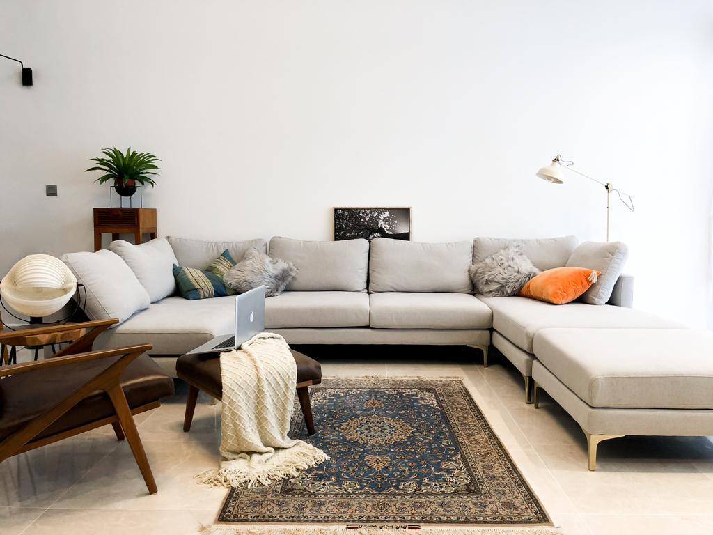 Contemporary, Landed, Living Room, Luxus Hills, Interior Designer, Posh Home