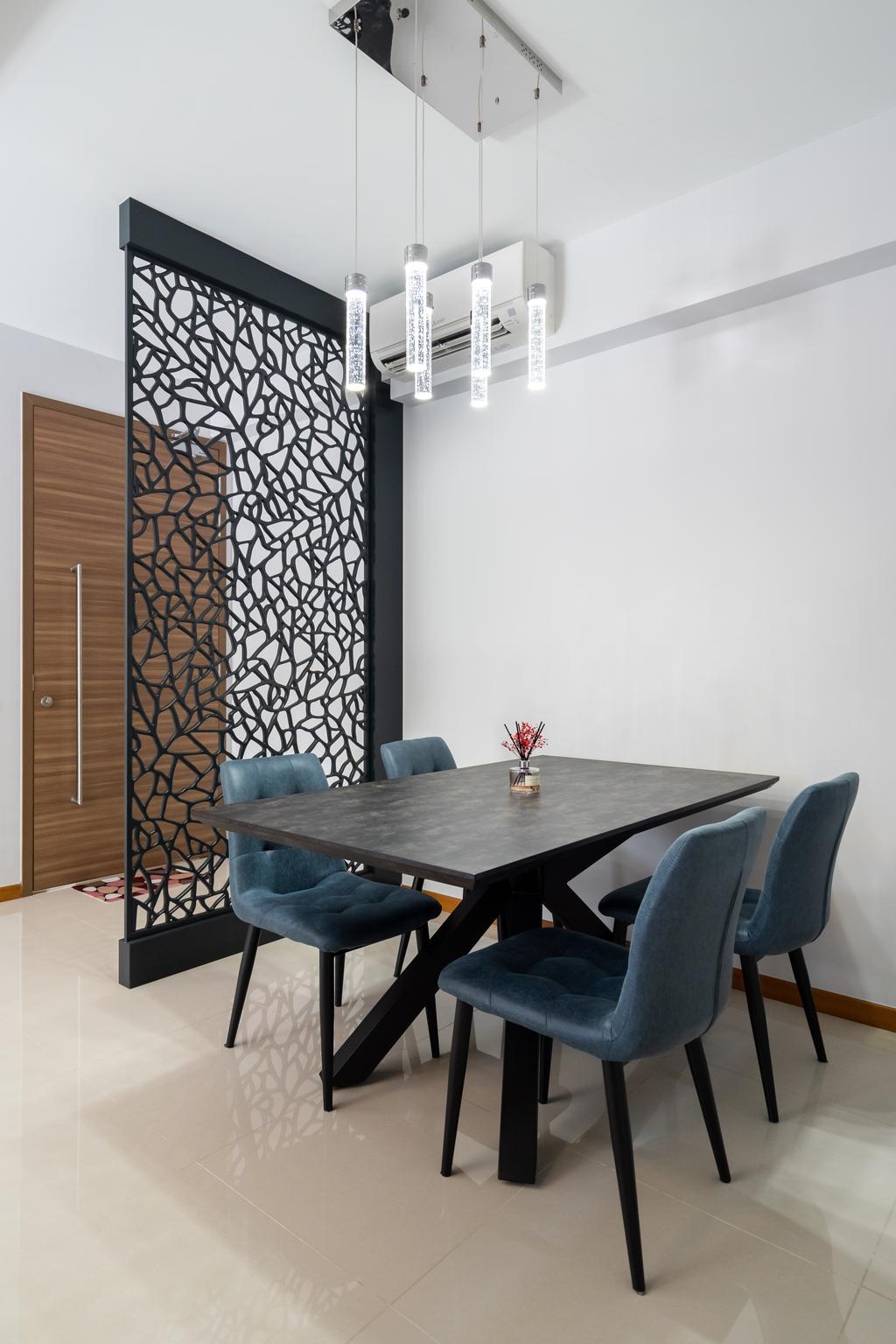 Modern, Condo, Dining Room, Wandervale, Interior Designer, Tab Gallery