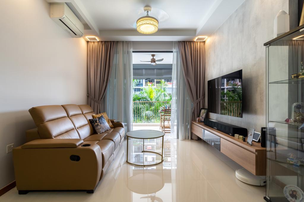 Modern, Condo, Living Room, Wandervale, Interior Designer, Tab Gallery