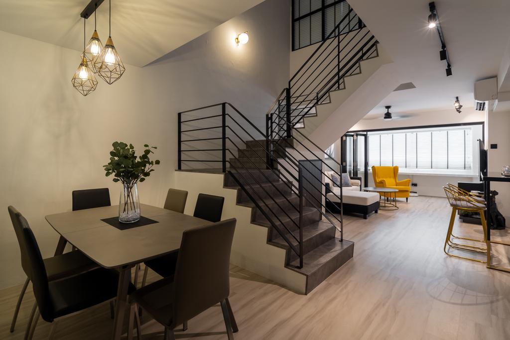 Contemporary, HDB, Dining Room, Jalan Teck Whye, Interior Designer, Tab Gallery