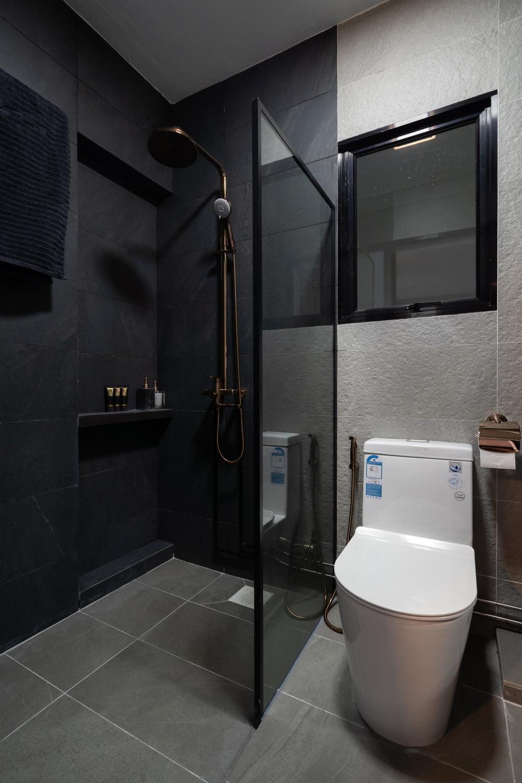 Contemporary, HDB, Bathroom, Jalan Teck Whye, Interior Designer, Tab Gallery