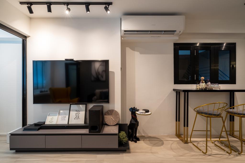 Contemporary, HDB, Living Room, Jalan Teck Whye, Interior Designer, Tab Gallery
