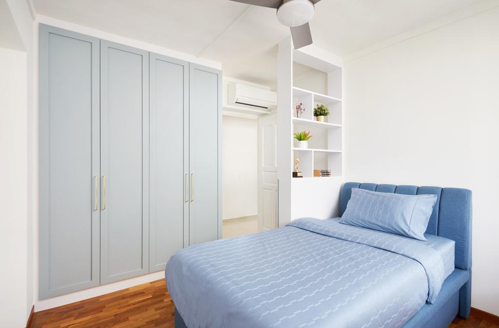 Contemporary, HDB, Bedroom, Woodlands Drive, Interior Designer, Dots 'N' Tots