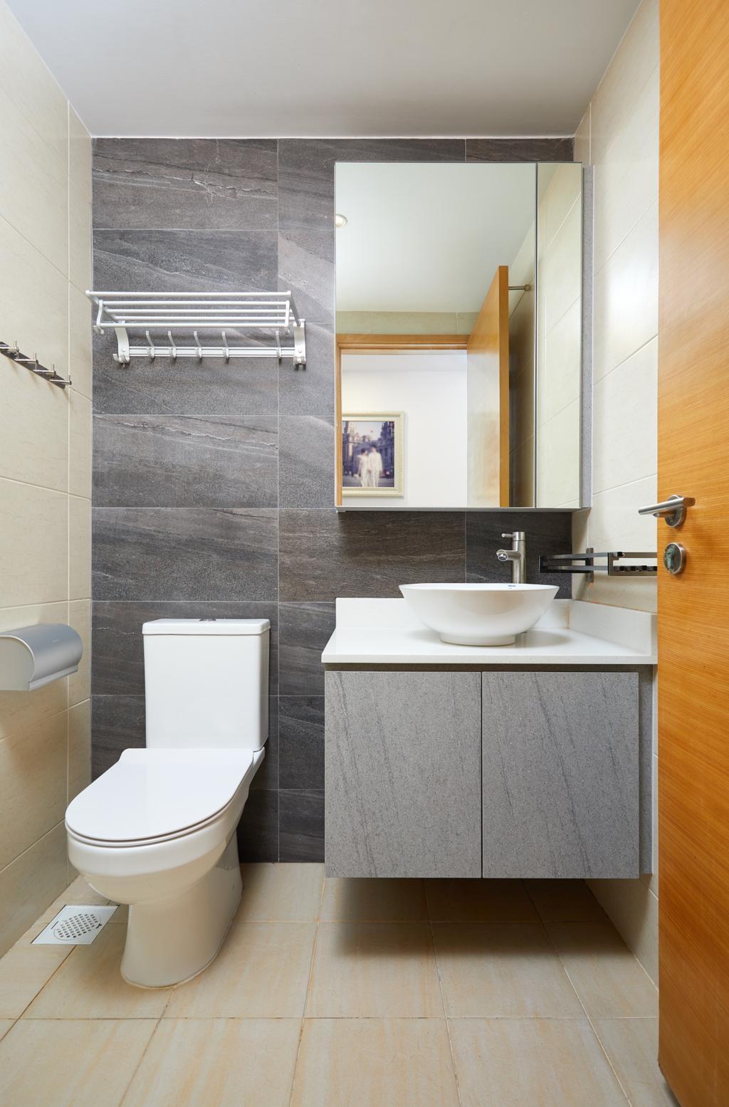 Modern, Condo, Bathroom, Lakeshore, Interior Designer, Dots 'N' Tots
