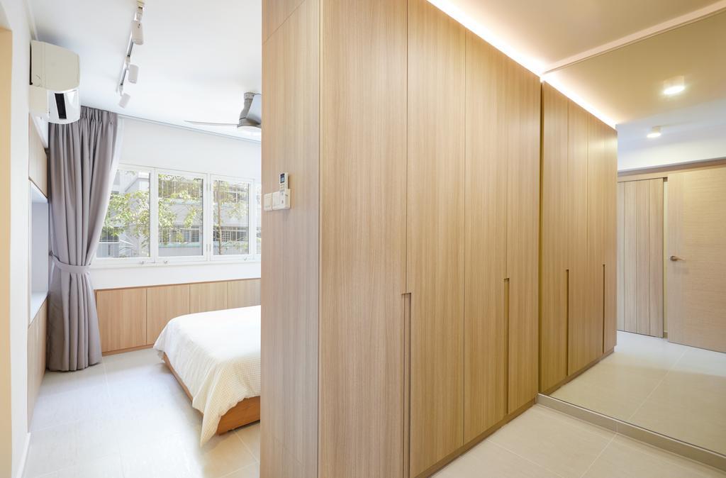 Minimalistic, HDB, Bedroom, Ang Mo Kio Street 21, Interior Designer, Dots 'N' Tots