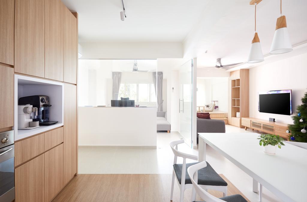 Minimalistic, HDB, Kitchen, Ang Mo Kio Street 21, Interior Designer, Dots 'N' Tots