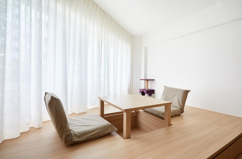 Minimalistic, HDB, Study, Ang Mo Kio Street 21, Interior Designer, Dots 'N' Tots
