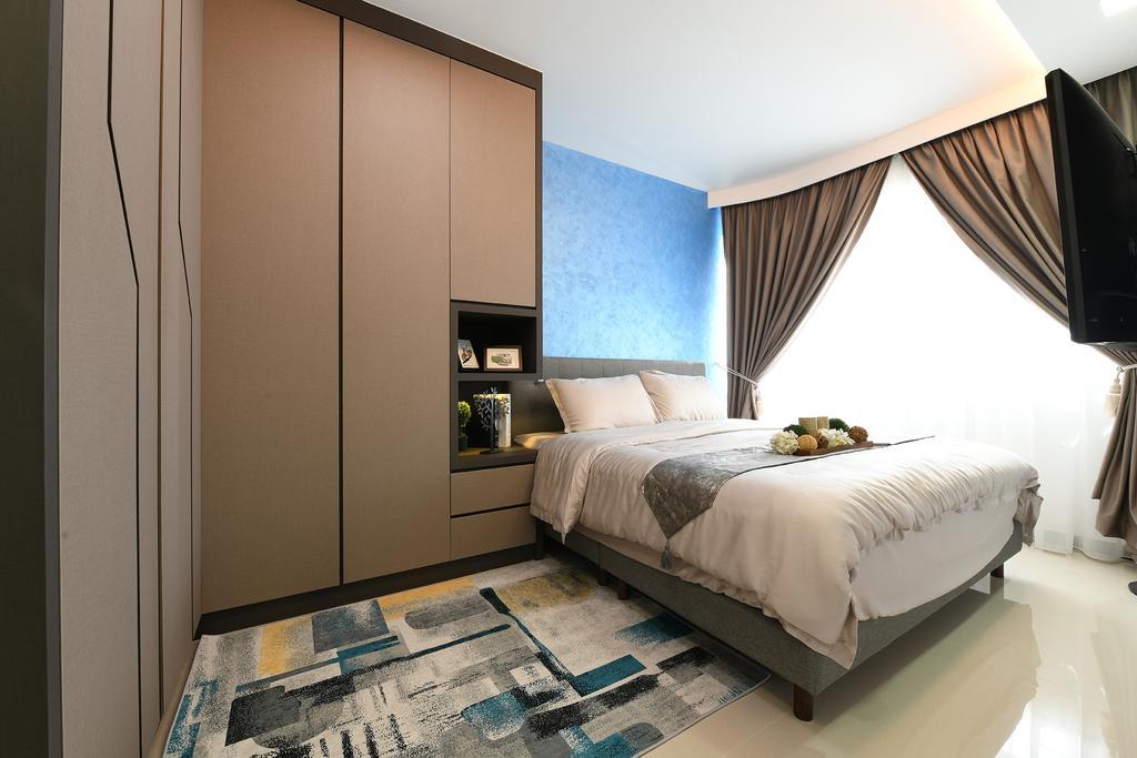 Modern, HDB, Bedroom, Telok Blangah Street 31, Interior Designer, Thom Signature Design, Contemporary