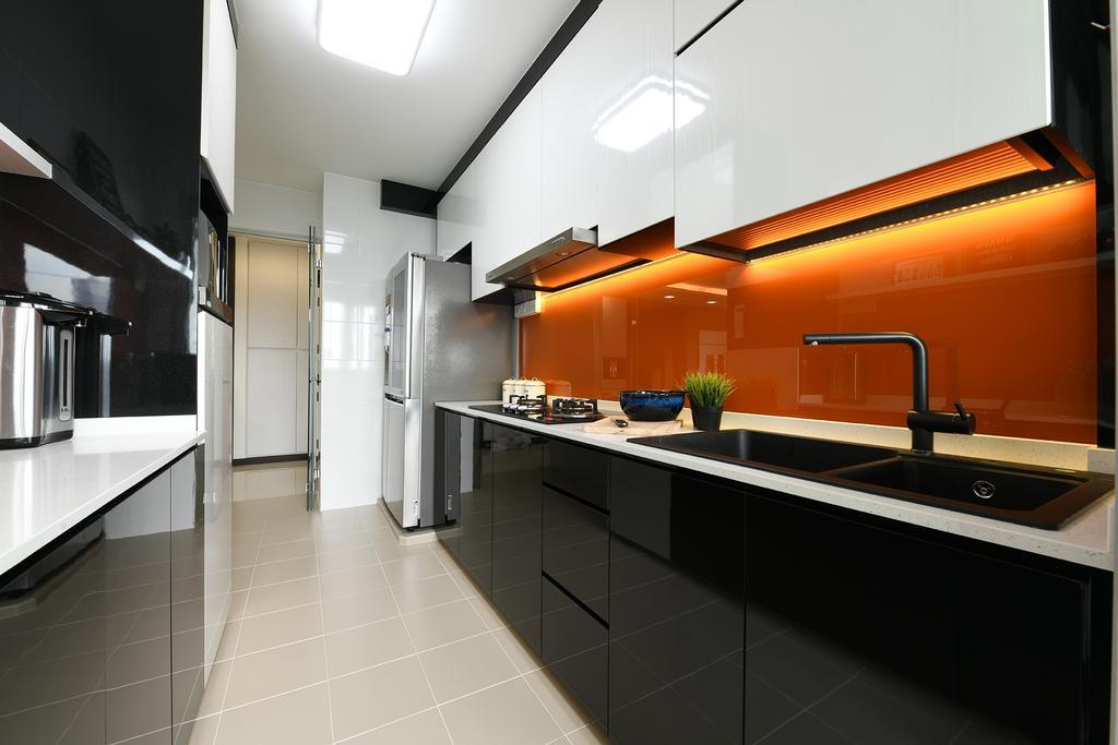 Modern, HDB, Kitchen, Telok Blangah Street 31, Interior Designer, Thom Signature Design, Contemporary