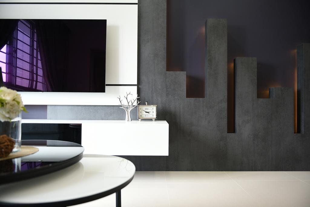 Modern, HDB, Living Room, Telok Blangah Street 31, Interior Designer, Thom Signature Design, Contemporary