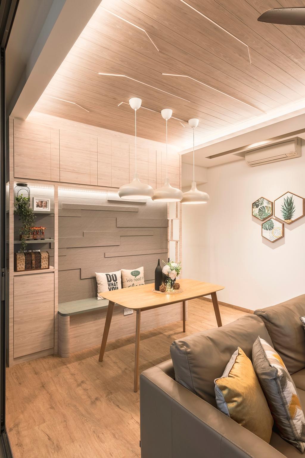 Contemporary, Condo, Dining Room, The Tembusu, Interior Designer, Thom Signature Design