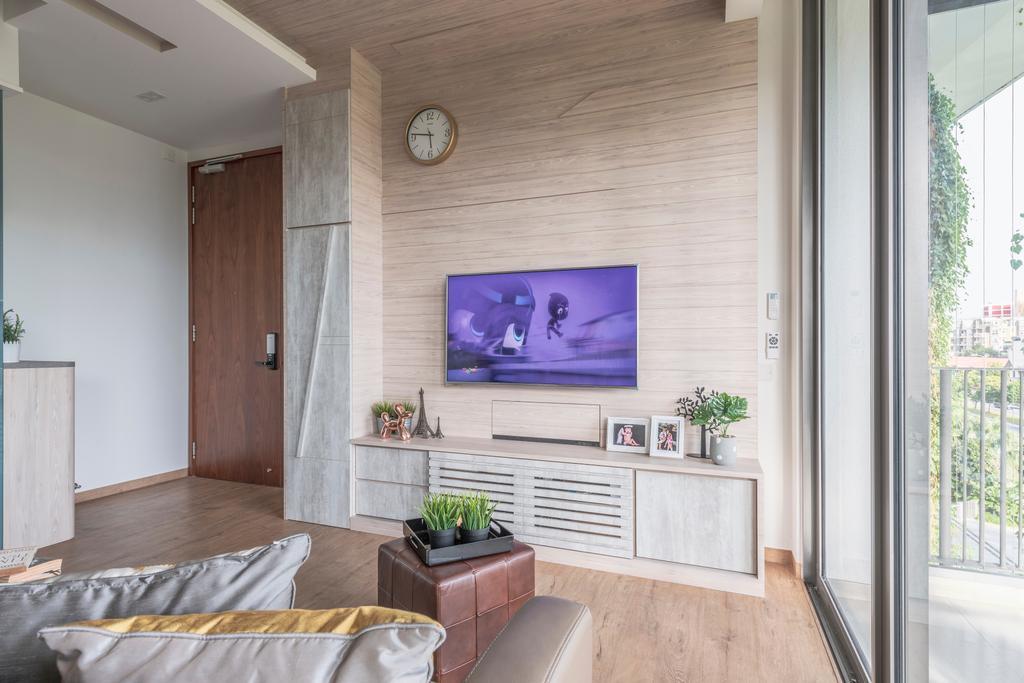 Contemporary, Condo, Living Room, The Tembusu, Interior Designer, Thom Signature Design