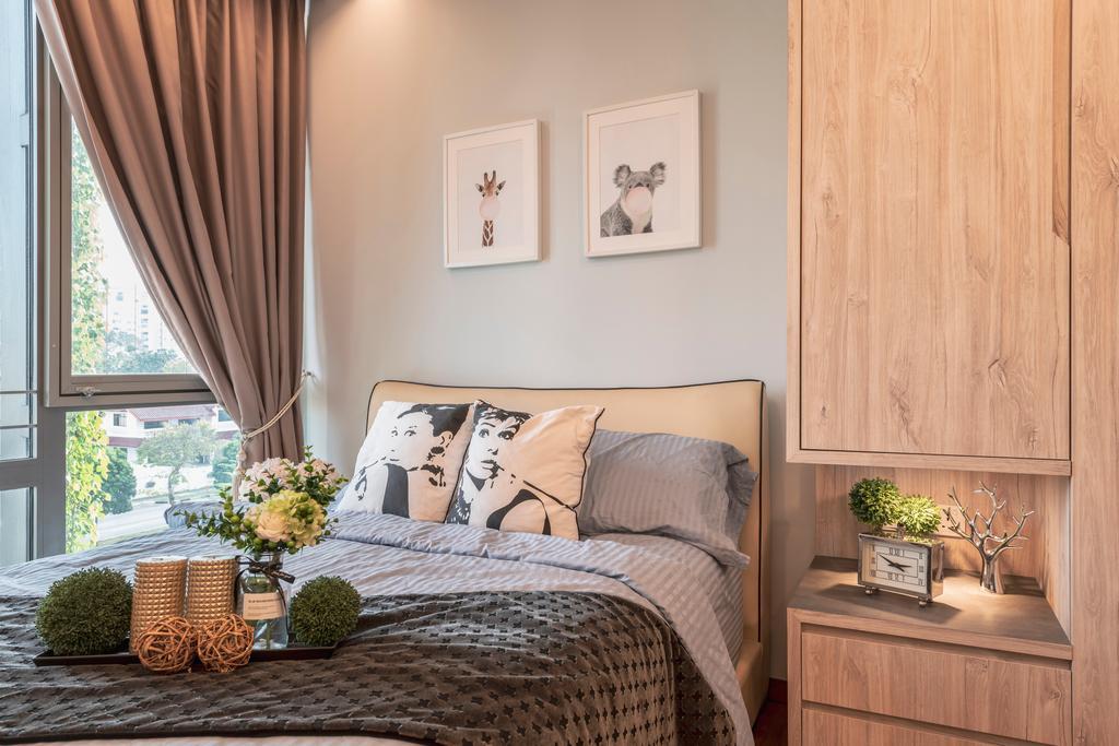 Contemporary, Condo, Bedroom, The Tembusu, Interior Designer, Thom Signature Design
