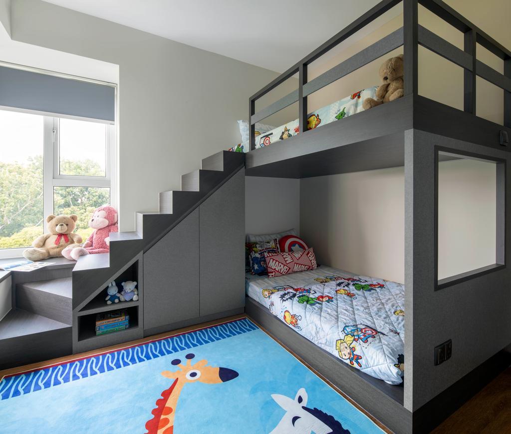 Contemporary, Condo, Bedroom, Savannah Condopark, Interior Designer, Thom Signature Design