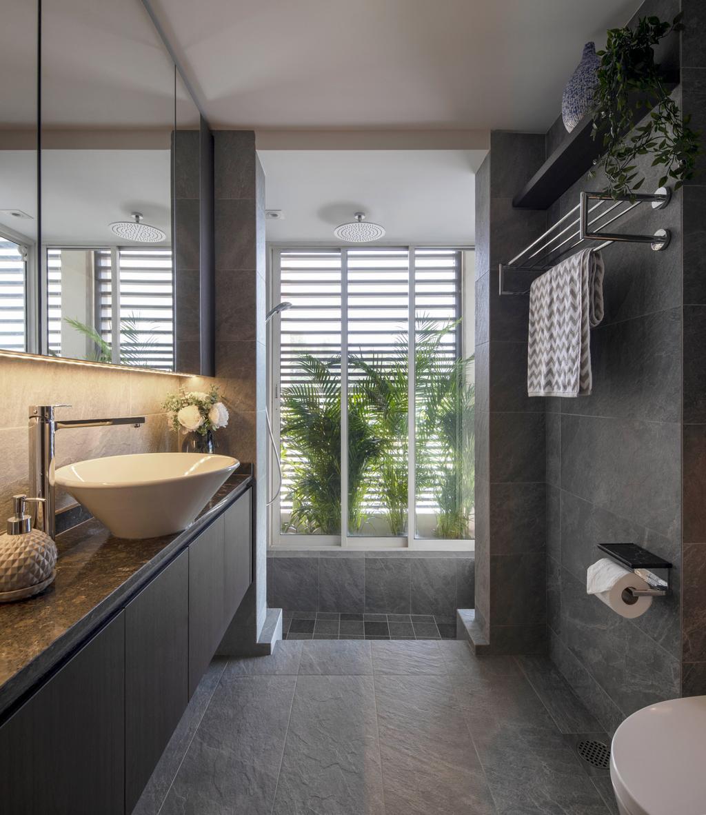 Contemporary, Condo, Bathroom, Savannah Condopark, Interior Designer, Thom Signature Design