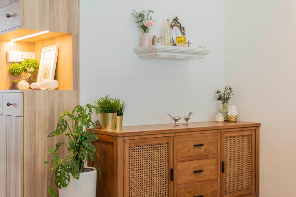 Contemporary, HDB, Balcony, Circuit Road, Interior Designer, Thom Signature Design