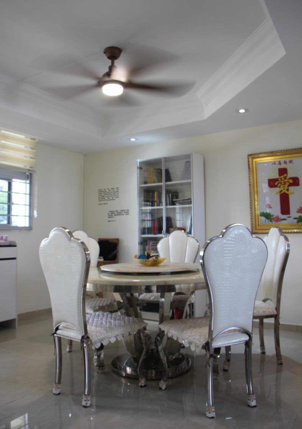 Modern, HDB, Dining Room, Toa Payoh Lor 6, Interior Designer, D & T Creation