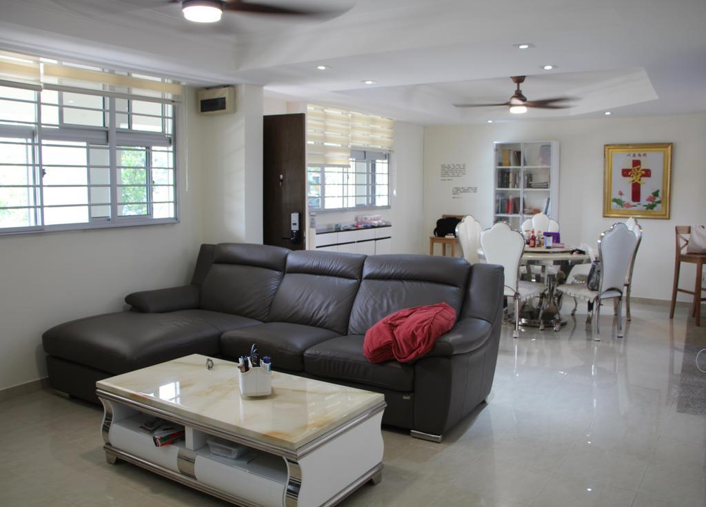 Modern, HDB, Living Room, Toa Payoh Lor 6, Interior Designer, D & T Creation